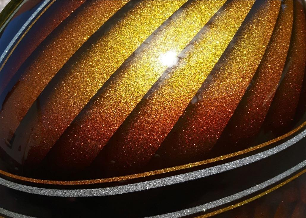 Motorrad Airbrush Tankbemalung Custom Painting