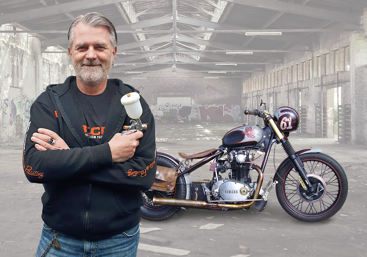 Motorrad lackieren kosten