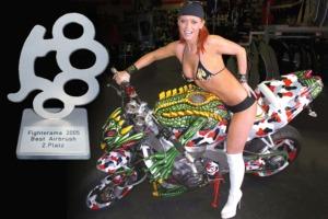 2. Platz Best Airbrush, Fighterama 2005