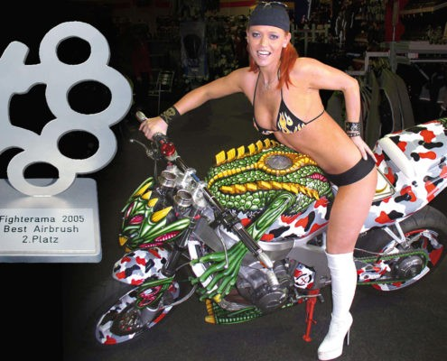 2. Platz Best Airbrush, Fighterama 2005