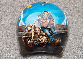 Airbrush Helm Weather