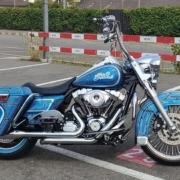 Harley Road King Chicano