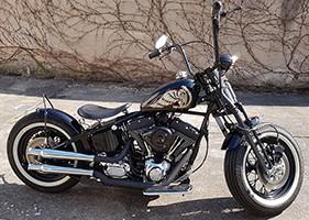 Harley Flying Wheel
